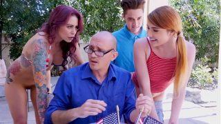 BANGBROS – Awesome 4th Of July Threesome With Monique Alexander, Adria Rae & Juan El Caballo Loco